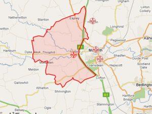 Mitford map